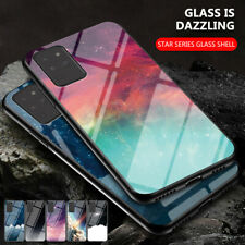 For Samsung Note 20/Ultra 5G Slim Hard Tempered Glass Back Protective Case Cover