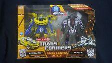 Transformers HFTD Crash Landing Attack Exclusive Bumblebee Thrust Set Target