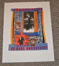 ELLY SIMMONS ARTIST LITHOGRAPH 20 X 25 3/4 SAN FRANCISCO Lagunitas 37/100 1998