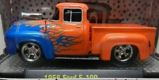 1956 56 ORANGE  STREET OUTLAWS DRAG RACE FORD PICKUP TRUCK F100 F 100 WC-01 M2