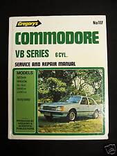 HOLDEN COMMODORE-VB-6 CYL.1978-80- WORKSHOP MANUAL