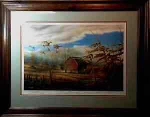The Homestead By Terry Redlin Framed