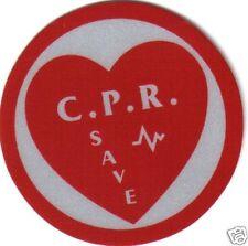 C.P.R. SAVE STICKER FOR FIRE HELMET