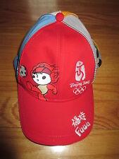 2008 BEJING Summer 2008 OLYMPIC GAMES Mascots (Adjustable) Cap