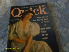 Lilli Palmer  Covers March 1952 Quick  Mini Magazine