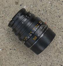 New listing Leica 50 mm summicron M lens
