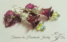 Peridot Silver Plated Fashion Earrings