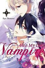 AYA SHOUOTO __ HE'S MY ONLY VAMPIRE __ GRAPHIC NOVEL _ SHELF WEAR __ FREEPOST UK