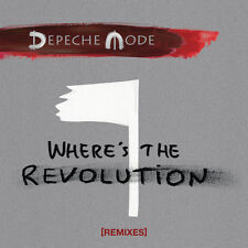 "Depeche Mode 12"" X 2 Where's The Revolution Remixes Double Vinyl"