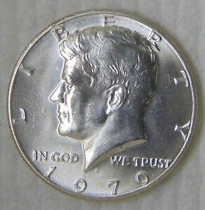 1970 D Kennedy Silver Half Dollar 50C, MS++ UNC