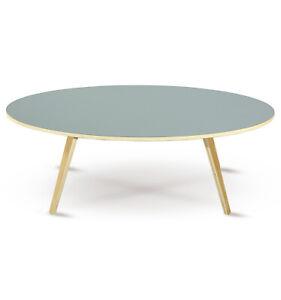 Beistelltisch Couchtisch Sofatisch Landhaus Tisch Wohnzimmer ARVIKA oval 120 cm