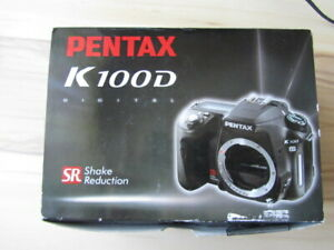 Pentax K100 D Digitalkamera SLR NP 1.069 Kartenlesegerät defekt, ansonsten wi