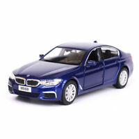 BMW 5 Series M550i xDrive 1:36 Scale Diecast Model Car Toy Vehicle Gift Blue