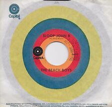THE BEACH BOYS  Sloop John B / You're So Good To Me  45 on CAPITOL Target label