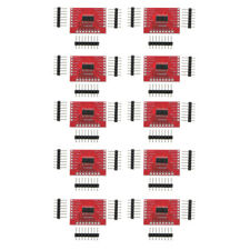 """10X Plastic 74HC595 Shift Module for   Standard 0.1"""" Spaced Headers"""