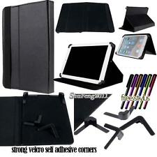 """Universal Folio Stand Leather Cover Case For Various 7"""" Models Tablet + STYLUS"""