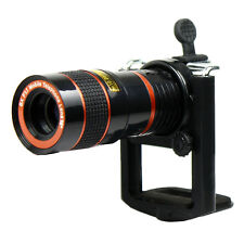 8X Zoom Telescope Lens Back For Mobile Cell Phone Camera with Universal Holder