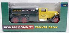 ERTL DIE-CAST JOHN DEERE 1930 DIAMOND T TANKER TRUCK BANK 1/40 SCALE