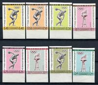 Paraguay 1961 Sport Olympiade Olympics Olympische Spiele 1111-1118 MNH