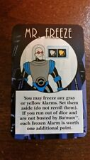 Batman Dice Mr. Freeze Promo Card Steve Jackson Games Animated Art