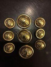 Moschino Cheap & Chic Women's Gold Metal Buttons For Moschino Jacket Blazer Coat