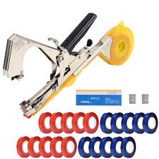 Tying Machine Set Garden Hand Tool For Plant Tying Tape Staple Gun Machine Kit
