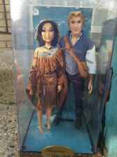 NEW Disney Fairytale Designer Collection Doll Set Pocahontas and John Smith LE