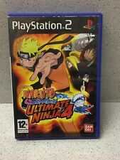 JEUX PS2 NARUTO SHIPPUDEN ULTIMATE NINJA 4 AVEC NOTICE PLAYSTATION