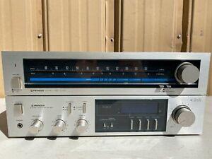 Vintage Pioneer TX-520 & SA-620 Stereo Tuner & Amplifier JAPAN