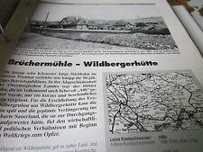 Neben - Schmalspurbahnen 8 Brüchermühle Wildbergerhütte 6S