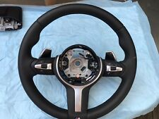 2014 2015 2016 2017 BMW F15 M SPORT X5 STEERING WHEEL WITH PADDLES PART HEATED
