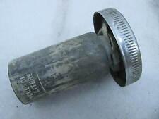 Original Harley Davidson Gas oil cup Cap Hummer Model 125 165 Topper