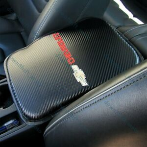 CHEVROLET Chevy Carbon Fiber Car Center Console Armrest Cushion Mat Pad Cover