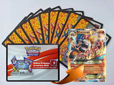 x10 Various XY Pokemon TCGO OnLine Code + 1 Bonus Mega Camerupt EX XY198 Code