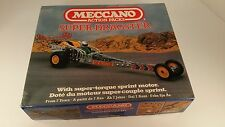 SALE- Meccano Super Dragster Construction Set #0-86302