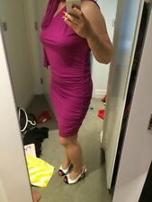 Violet transformateur Robe Sexy Taille M UK 10-12