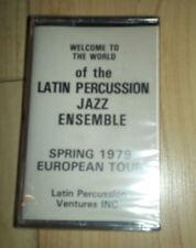 Latin Percussion Jazz Ensemble - 1979 Euro Tour - Cassette - SEALED