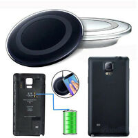 Qi Wireless Charging Pad +Battery Receiver Cover Kit For Samsung Galaxy Note 4