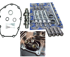 S&S Cycle 475C Camshaft Kit, Lifters, Pushrods, Cuffs Harley 2017-18 M8 Models