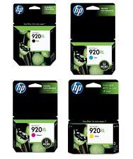HP 920XL OEM Ink Cartridge 4-Pack (Black, Cyan, Magenta, Yellow)