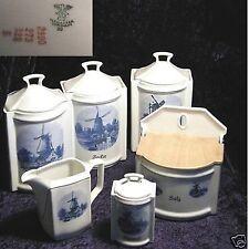 C T Altwasser Menage 6 teilig Zucker Kümmel Öl ...Vorratsgefäße antik