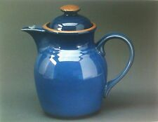 NEW Noritake Stoneware MADERA BLUE Coffee Pot (tea beverage server)  - BRAND NEW