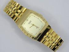 VINTAGE ORIENT QUARTZ GOLD PLATED G585969-40 CS WATCH * WORKING