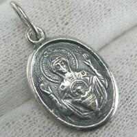 925 Sterling Silver Pendant Inexhaustible Chalice Cup Small Little Prayer 502