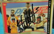 Michael Andretti hand signed autographed Indy Car racing card.  1992