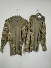 2 used Multicam US Army Combat Shirt ACS Size L Flame Resistant large