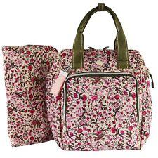 Oilily Groovy DiaperBackpack MVZ Fuchsia Damen Rucksack Tasche Pink Bunt Blumig