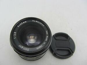 Soligor Miranda F2.8 35mm Bayonet Mount Lens For SLR/Mirrorless Cameras