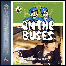 ON THE BUSES - THE COMPLETE SERIES  DVD BOXSET ***BRAND NEW*****