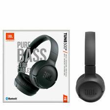 JBL Tune 500BT Bluetooth On-Ear Headphones - Black New Foldable